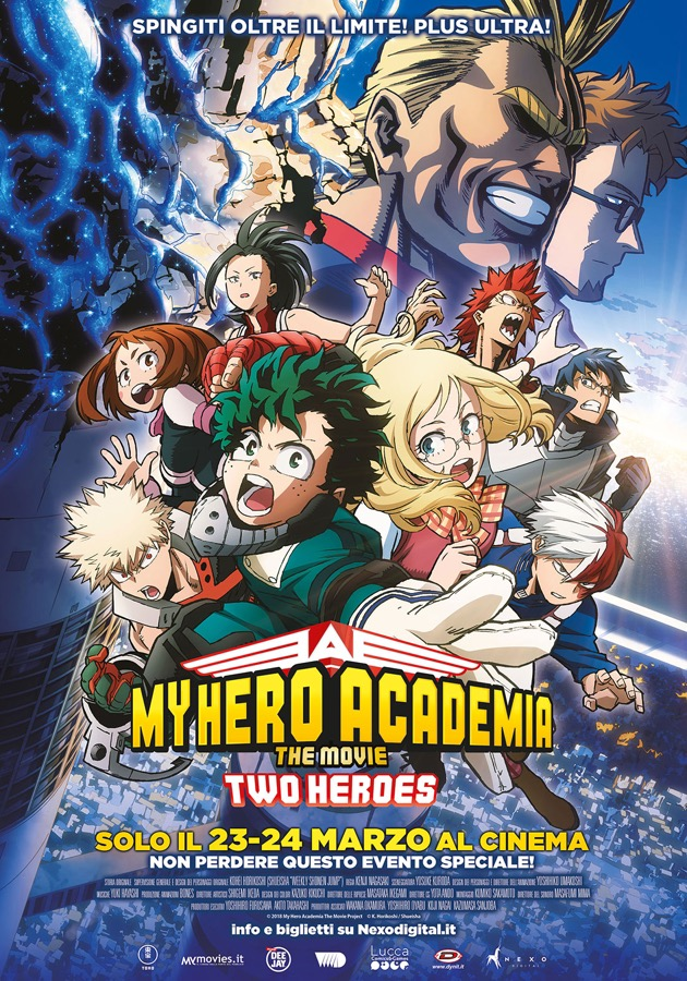 My Hero Academy poster