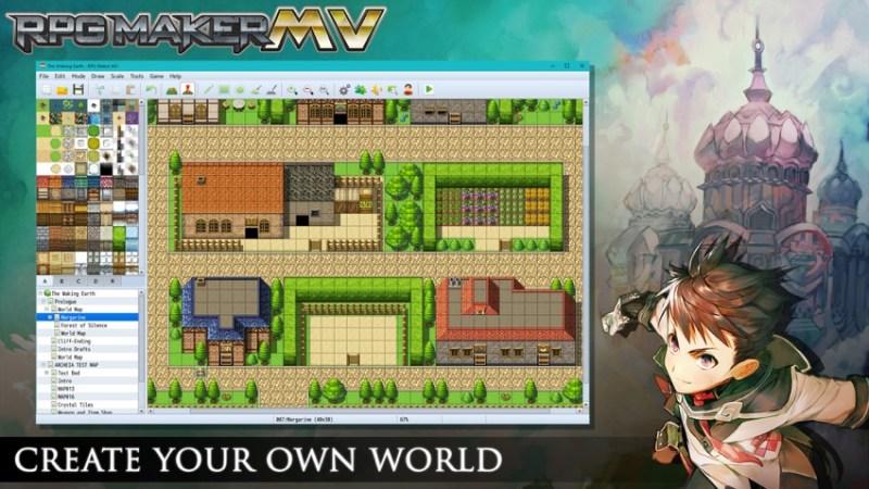 RPG Maker MV, annunciata la data per Nintendo Switch