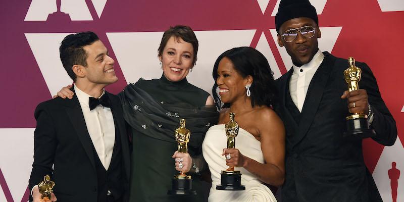 "Oscar 2019, trionfo per Rami Malek e per Alfonso Cuaron per ""Roma"""