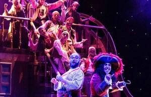 Peter Pan musical in scena
