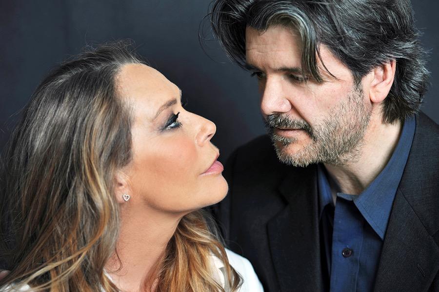 Barbara De Rossi e Francesco Branchetti a teatro