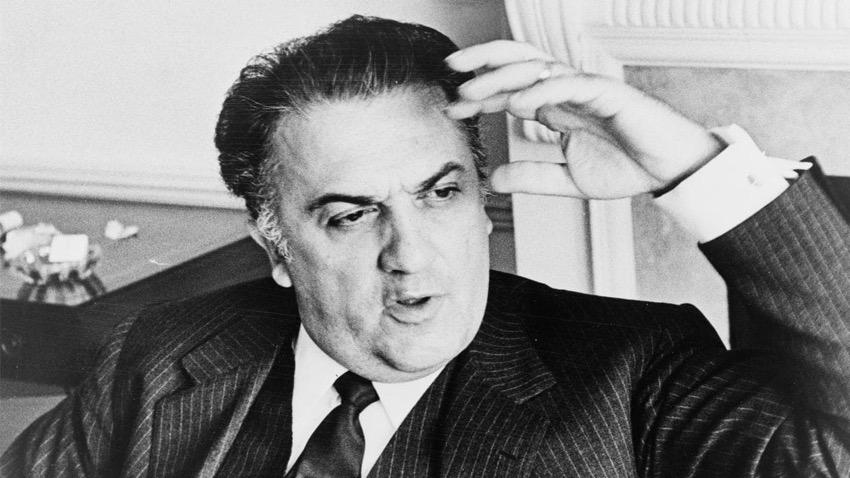 """""""Fellini fine mai"""", a Venezia l'esclusivo docufilm sull'arte del grande regista"""