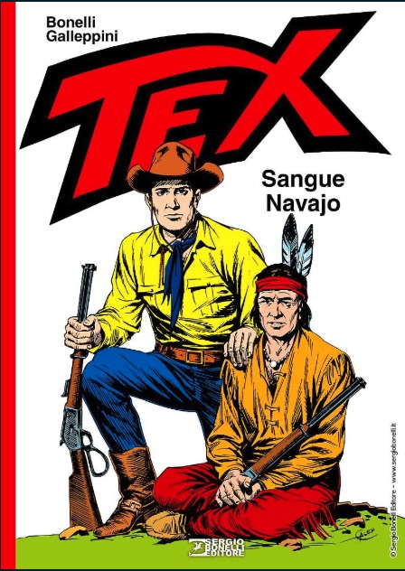 Tex - Sangue Navajo Bonelli