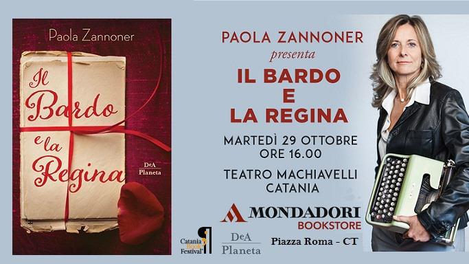 Paola Zannoner vincitrice del Premio Strega 2018 al Teatro Machiavelli di Catania