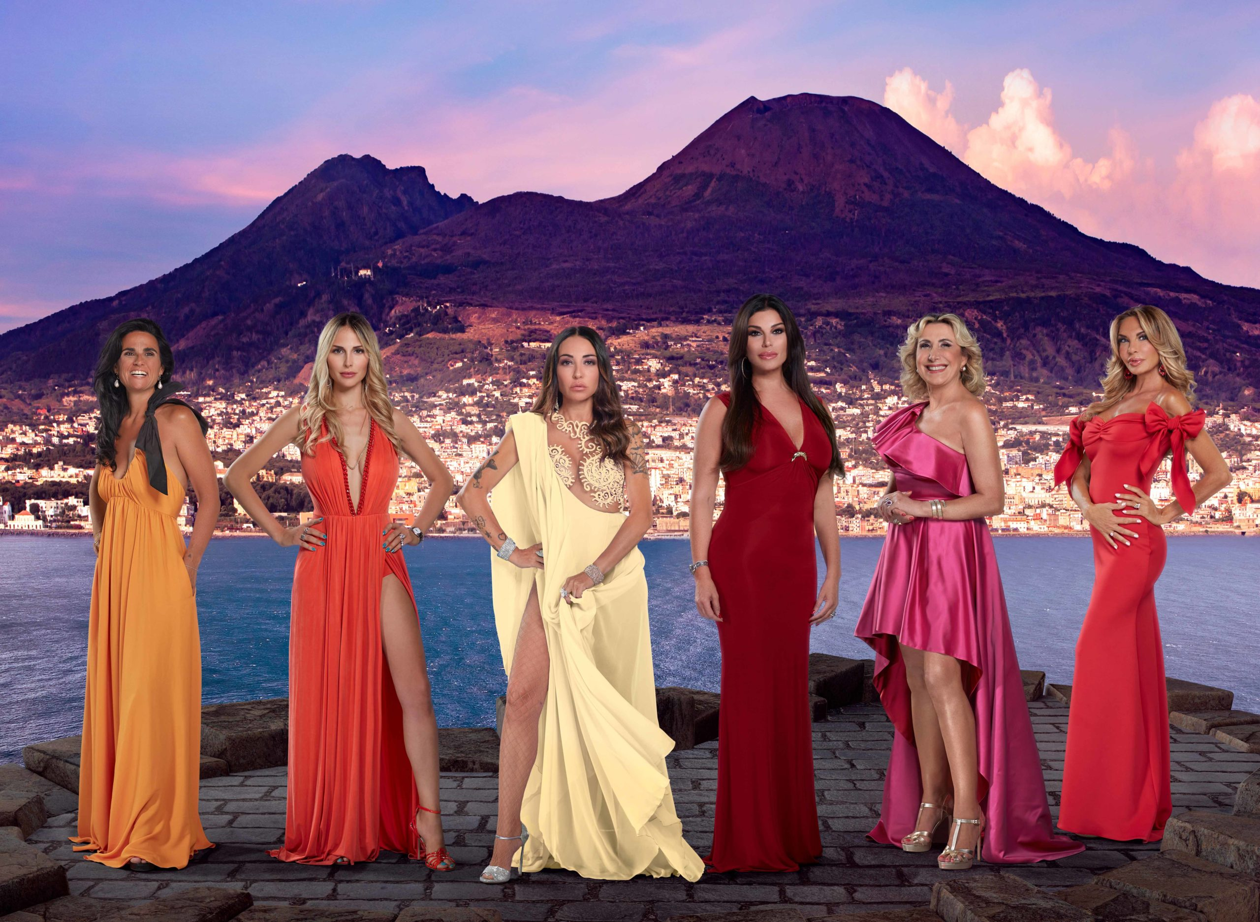 The real housewives Napoli, le casalinghe chic di Napoli sbarcano su Real Time