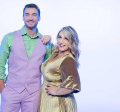 Damiano Carrara e Katia Follesa in Cake Star