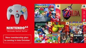 Nintendo Switch Online: il servizio si amplia con i giochi Nintendo 64 e SEGA Genesis