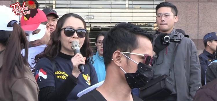 Terjadi Apa Pada Demo Pekerja Migran(8/12/2019)?