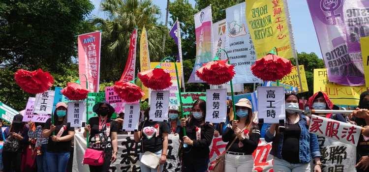 【新聞稿】母親五一反血汗 家務勞動要保障 20210502