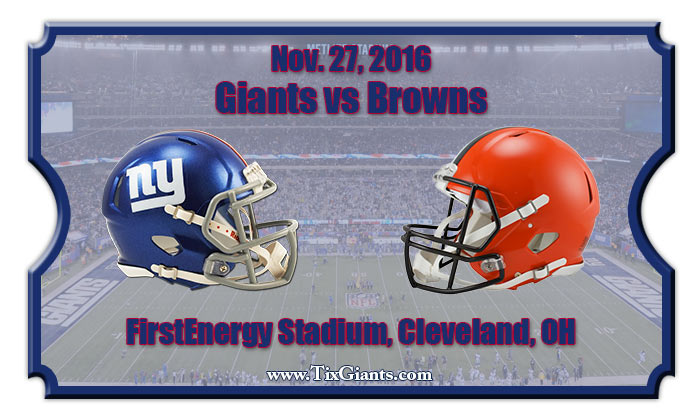 Image result for giants vs browns