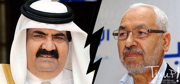 Hamad Bin Khalifa Al Thani Rached Ghannouchi