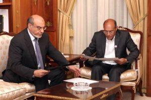 Hamadi Jebali - Moncef Marzouki