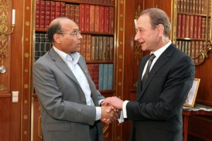 Moncef Marzouki - Bertrand Delanoë