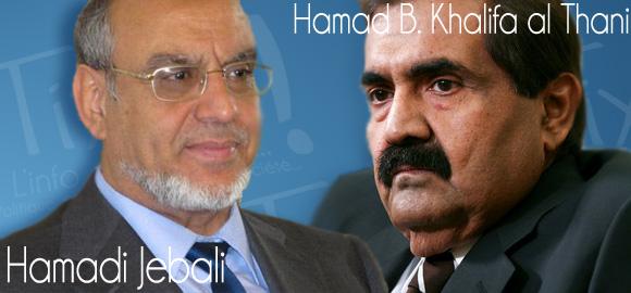 Hamadi Jebali - Hamad Bin Khalifa al Thani
