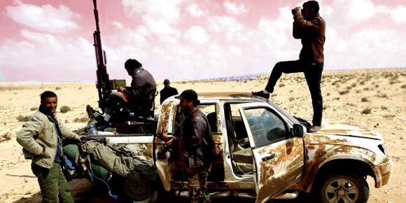 Tunisie Libye - échange de tirs