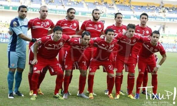 Tunisie - Niger - CAN 2012