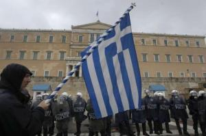 Manifestation Grèce
