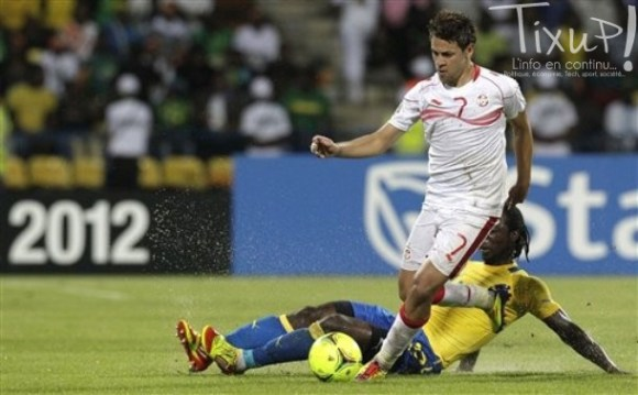 Tunisie - Gabon - CAN 2012