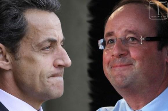 Nicolas Sarkozy - François Hollande
