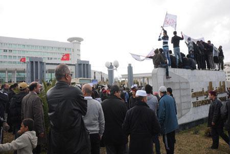Sit-in ETT - Télévision Tunisienne