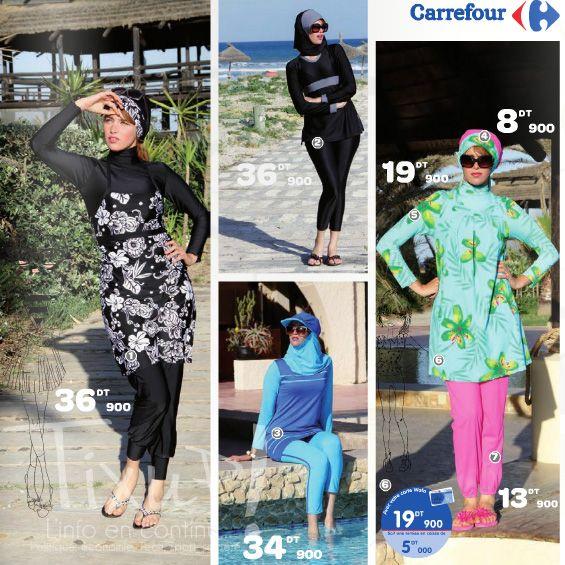 online shop release info on half price Carrefour Tunisie sort la collection des « maillots de bain ...