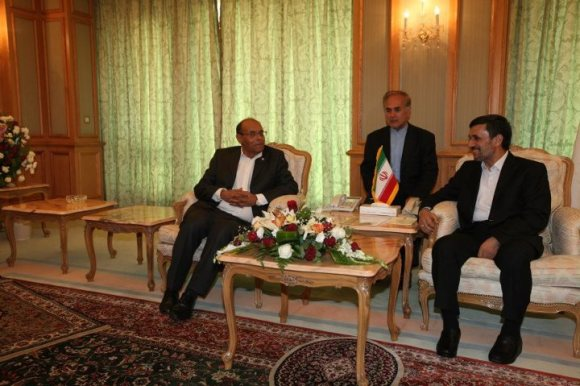 Moncef Marzouki - Mahmoud Ahmadinajed