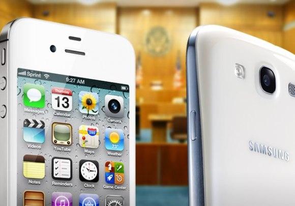 Apple - Samsung - iPhone - Galaxy SIII