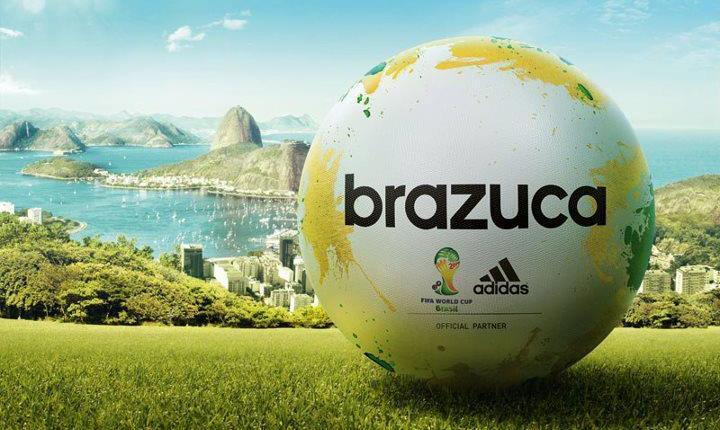 Brazuca - Ballon Coupe du Monde 2014