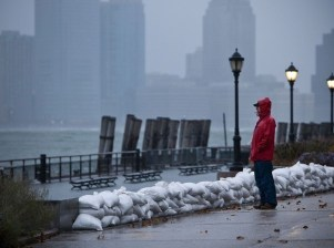 Sandy Ouragan - New York