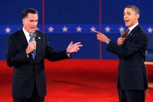 Mitt Romney - Barack Obama