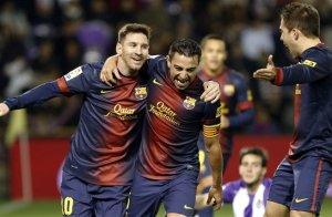 Lionel Messi - Xavi Hernandez - Jordi Alba
