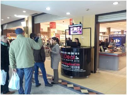 Bigdeal.tn, point de vente à Carrefour Market