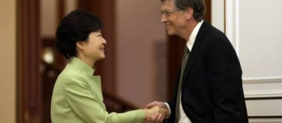 Park Geun-Hye - Bill Gates