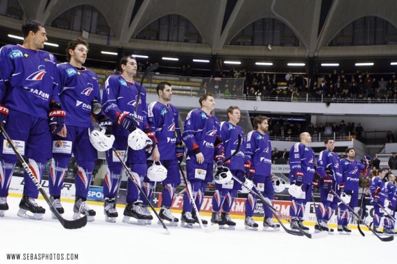 Match d'ouverture France Slovaquie Hockey
