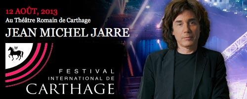12 Août 2013 : Jean Michel Jarre à Carthage
