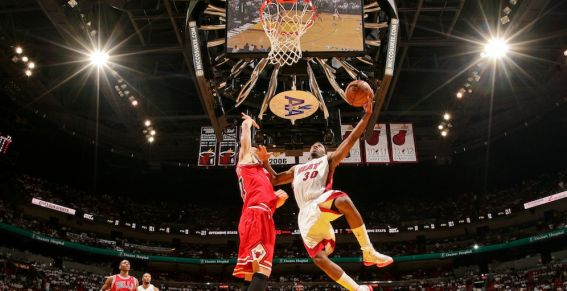 NBA - Miami Heat Vs Chicago Bulls