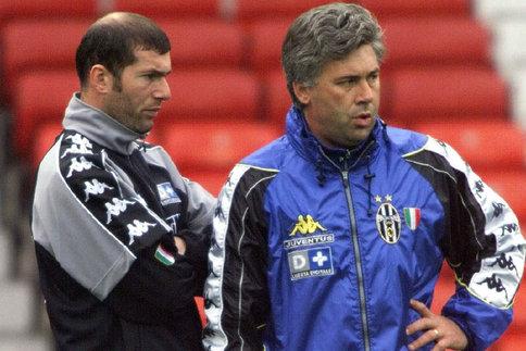 Zidane et Ancelotti au Real Madrid