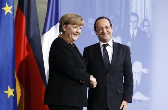 Hollande se rendra jeudi 23 mai en Allemagne pour fêter le 150 anniversaire du SPD (parti du gauche d'Allemagne) fervent opposant d'Angela Merkel