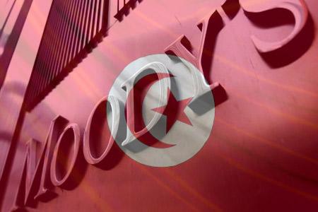Moody's dévalue à nouveau la note de la Tunisie