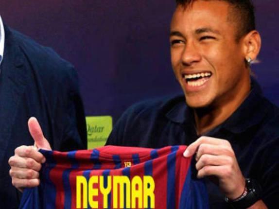 Neymar annoncé à FC Barcelone
