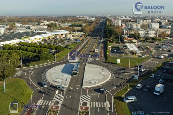 France : Inauguration du Rond-point de Mahdia à Saint Nazaire