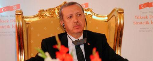 """Depuis Tunis, Erdogan aux opposants turcs """"Nous conduirons ce projet à bout"""""""