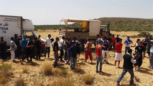 Jbal Châambi : Les habitants de Kasserine soutiennent les militaires (Photo 2)