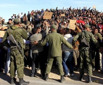 Les réfugiés du camp de la Choucha à Ras Jedir se rebellent ?