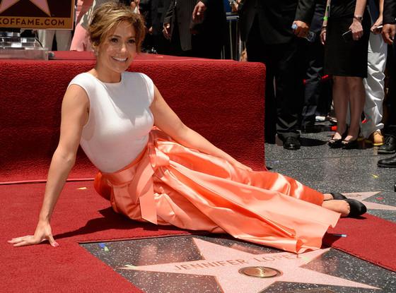 Jennifer Lopez - Hollywood Boulevard