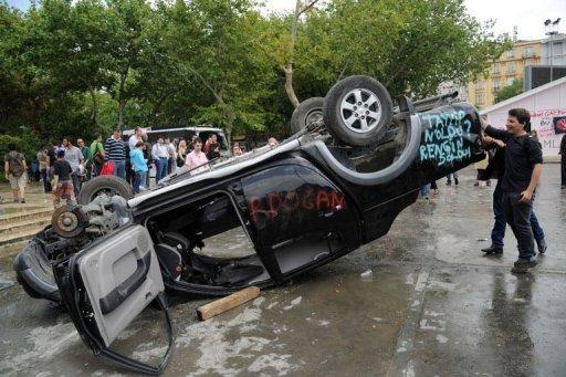 Istanbul : Les manifestations violentes déstabilisent le pouvoir islamique ?