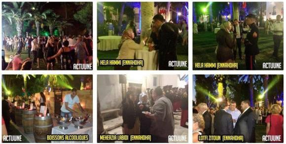La Garden party du 14 Juillet à la résidence de l'Ambassadeur de France en Tunisie