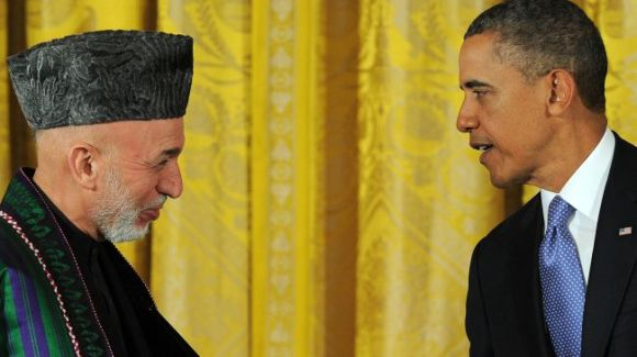Karzai - Obama