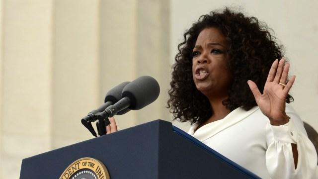 Oprah Winfrey revient sur l'héritage de Martin Luther King