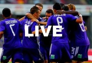 RSCA Anderlecht Charleroi Streaming en Direct Live Resume Video Buts